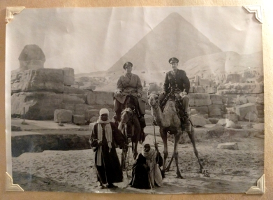 Granddaddy in Cairo, en route to China