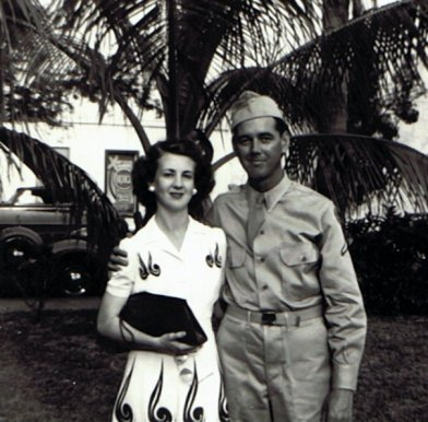 My grandparents, Miami