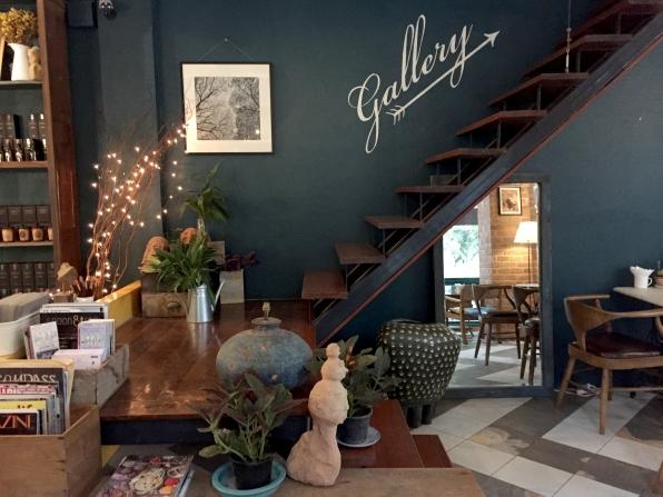 My Secret Cafe, Interior