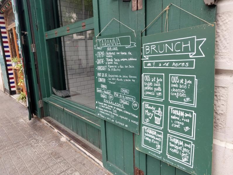 Tarannà Cafe + Bar, Barcelona
