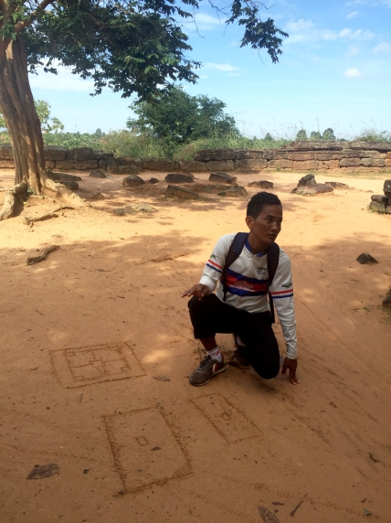 Our Guide Drawing Maps, Angkor Wat